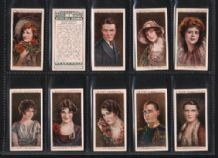Cigarette cards Cinema Stars 1928 second series of 25